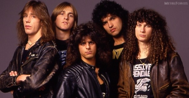 Mortal Sin 1989 (l-r) Wayne Campbell, Mick Burke, Andy Eftichiou, Paul Carwana and Mat Maurer