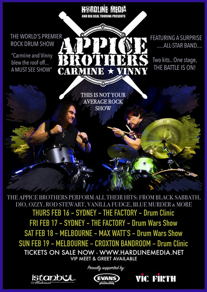 Appice Bros DrumScene final