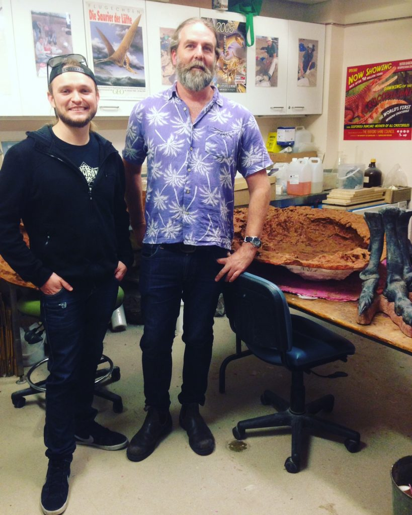 Dr Steve Salisbury - Palaeontologist - Dinosaurs - Andy Dowling - LORD - The Andy Social Podcast