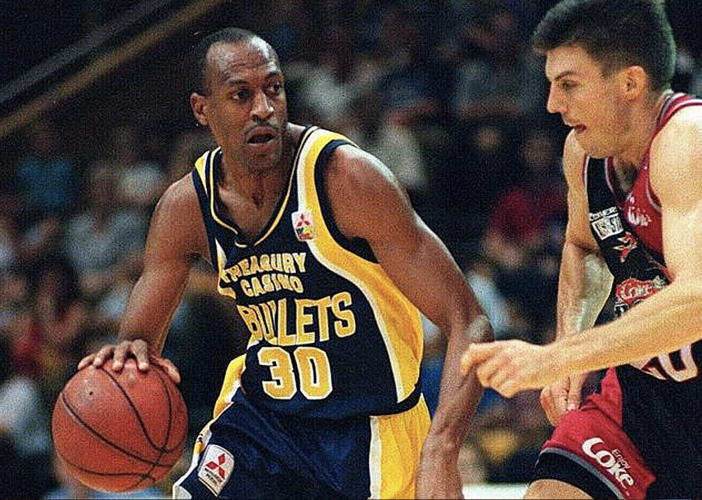 The Andy Social Podcast - Leroy Loggins - Brisbane Bullets
