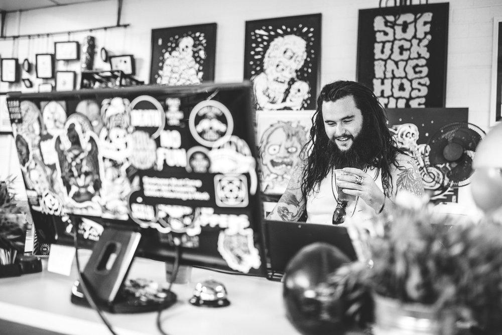 The Andy Social Podcast - Sindy Sinn - Photo by Billy Zammit