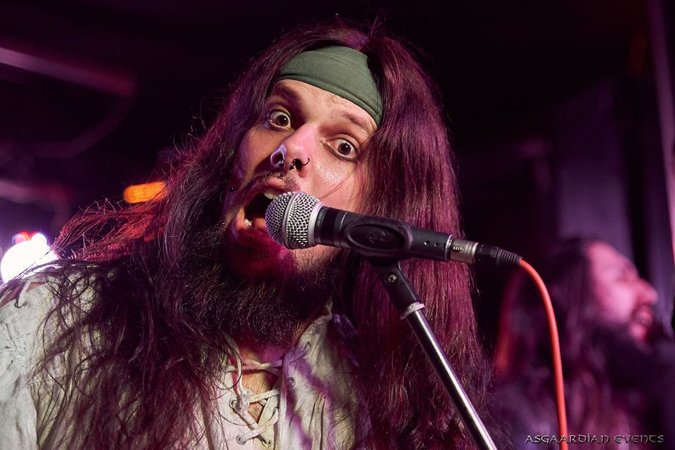The Andy Social Podcast - Joel Orford - Live at Blackand Berlin Rock and Metal Bar - Photo by Asgaardian Events