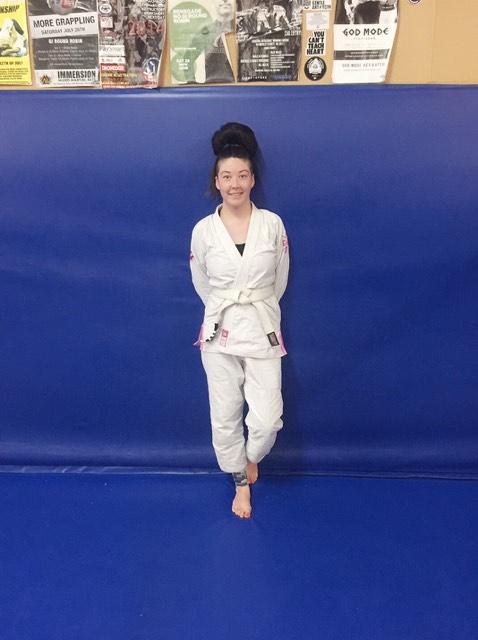 Sarah Lim - Jiu Jitsu - Andy Social - Andy Dowling