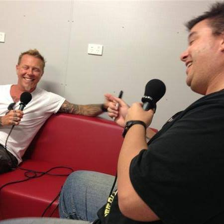 Dave Higgo Higgins - James Hetfield - Metallica - Andy Social Podcast