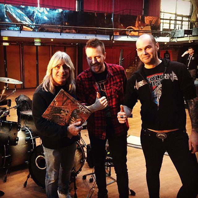 Riley Strong - Desecrator - Andy Social - Mikkey Dee