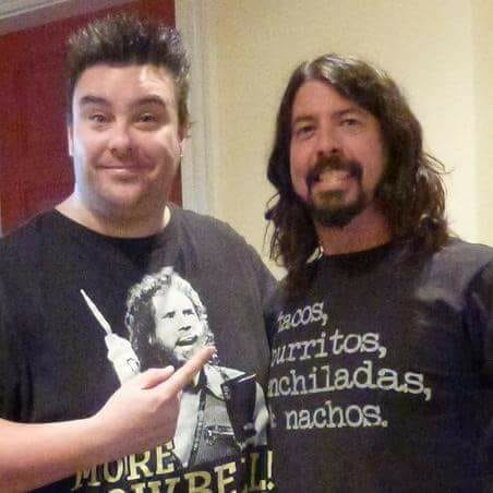 Dave Higgo Higgins - Dave Grohl - Andy Social Podcast