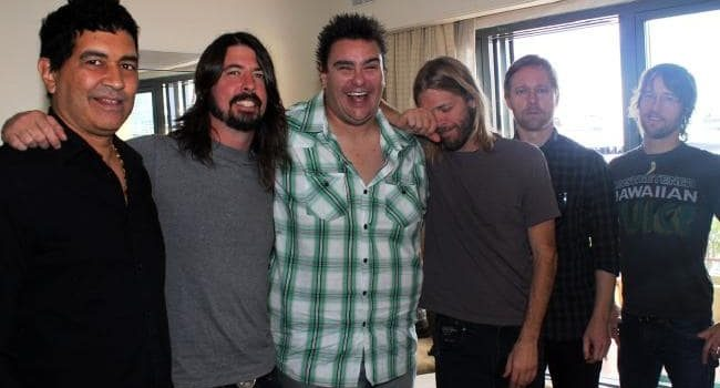 Foo Fighters - Dave Grohl - Dave Higgo Higgins - Andy Social Podcast