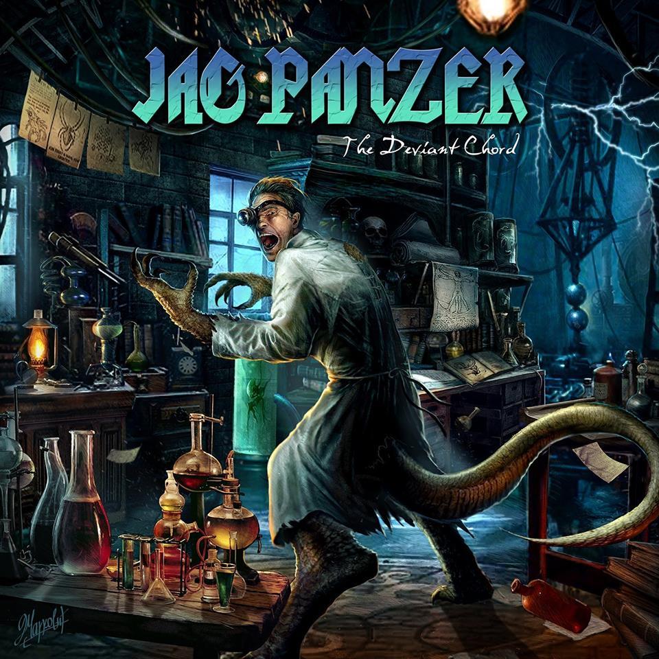 The Deviant Chord - Mark Briody - Jag Panzer - Andy Social