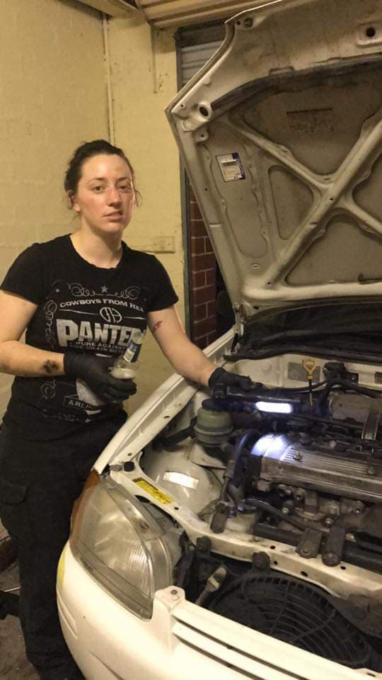 Lara Gibson - Automotive Technician