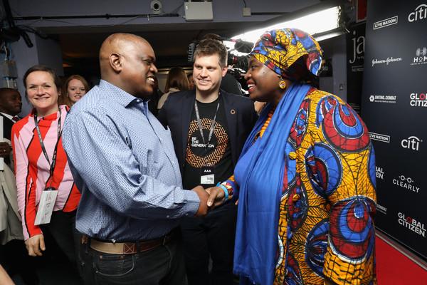 Michael Sheldrick and Mokgweetsi Masisi - Andy Social Podcast - Global Citizen