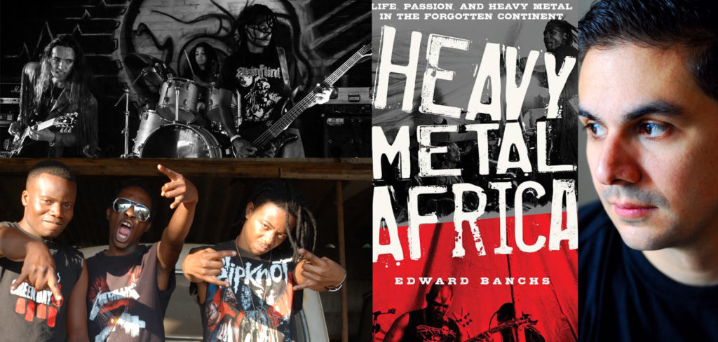 Edward Banchs - Heavy Metal Africa - Andy Social Podcast