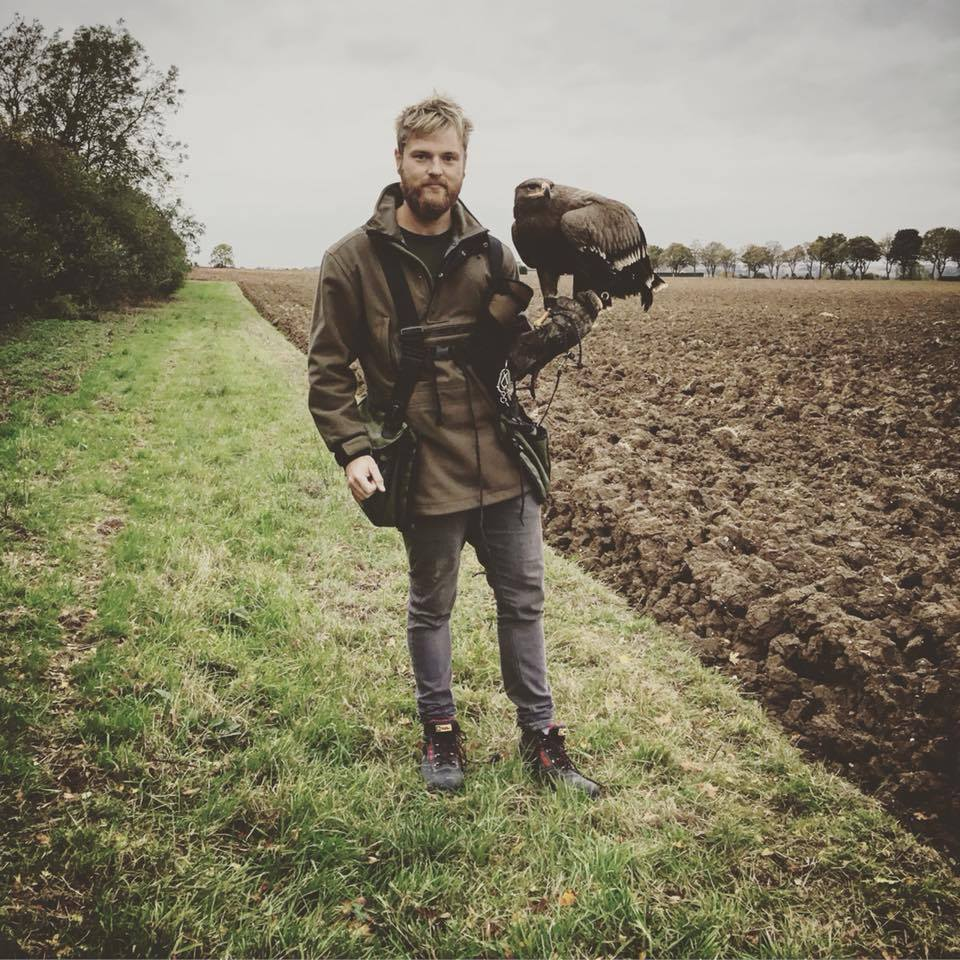 Joel Coldron - Falconer - Falconry - Andy Social Podcast