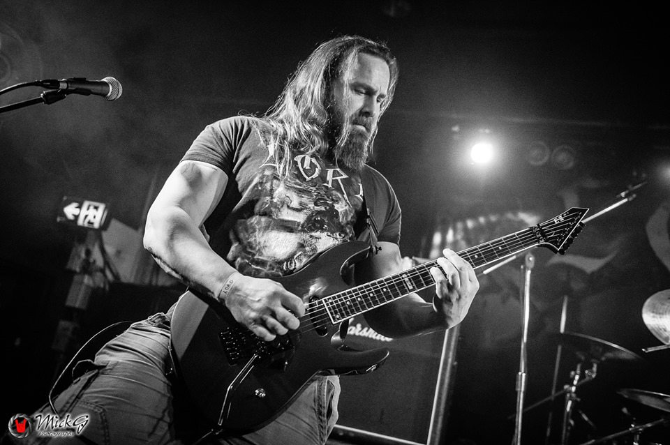 Mark Furtner - LORD - FromBeyond - MickG Photography - Andy Social - ESP Guitars