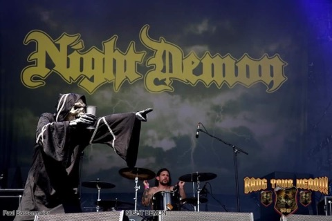 Kit Ekman - Night Demon - Andy Social Podcast - Metal Chaos Magazine