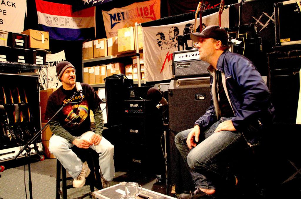 Bob Nalbandian - Inside Metal - Skullsessions Podcast - Andy Social Podcast - Lars Ulrich