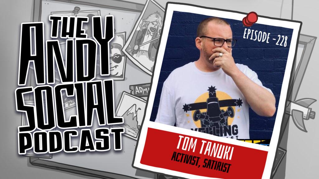 Tom Tanuki - Andy Social Podcast