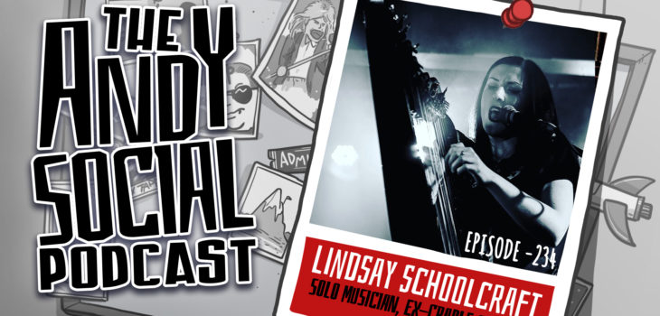 Lindsay Schoolcraft - Martyr - Cradle of Filth - Andy Social Podcast