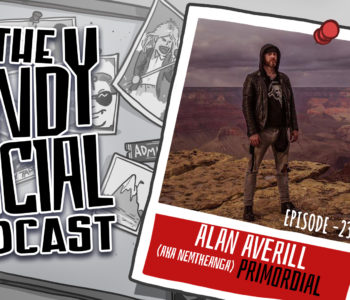 Alan Averill - Nemtheanga - Primordial - Andy Social Podcast